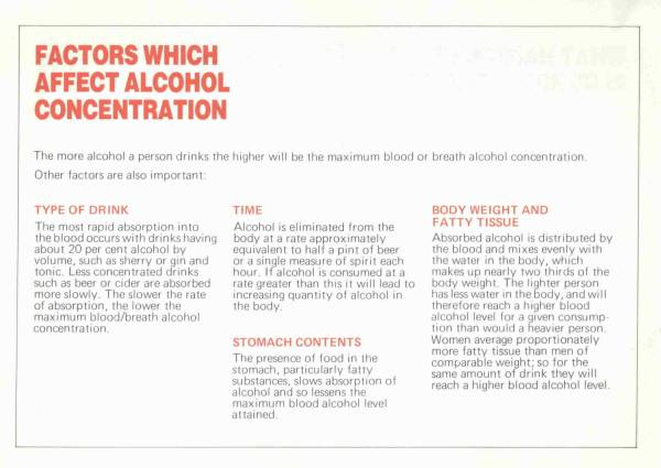 The Facts About Drinking and Driving - Page 6