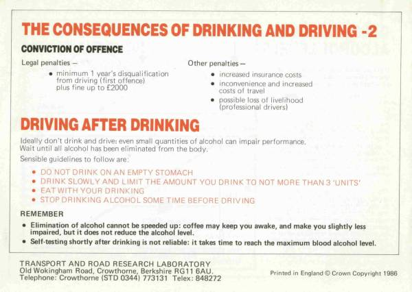 drinking and driving facts essay Texting and driving is a widespread problem that is killing americans across the country this sample essay illustrates ways in which mainstream media companies can help reduce the deadly accidents that arise from this behavior, thereby making our streets safer.